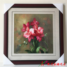 Hand embroider high-quality goods draws sitting room adornment to hang picture outside frame study porch decoration