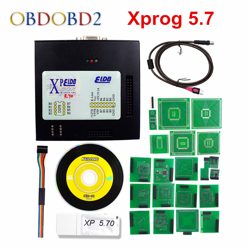 где купить Newest XPROG M V5.72 XPROG Box ECU Programmer With USB Dongle X-Prog 5.72 Auto ECU Programming Xprog-M V5.72 Update Version 5.7 по лучшей цене