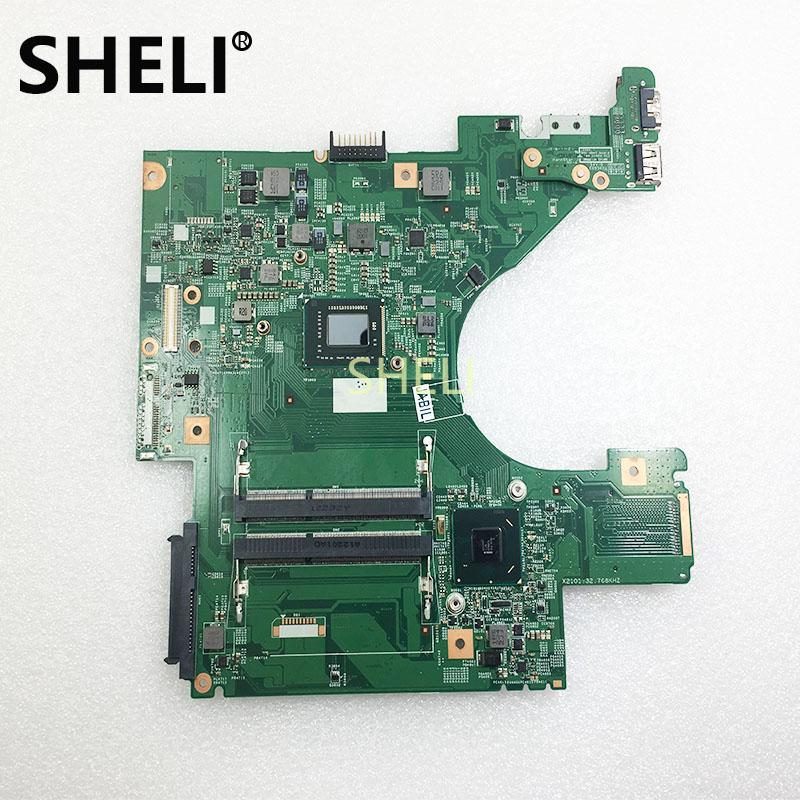 SHELI For DELL 0K5D90 K5D90 Inspiron 2020 Laptop Motherboard 10318-1 48.4IM02.011CPU <font><b>i5</b></font>-<font><b>2450M</b></font> DDR3 tested image