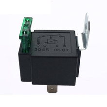 Automotive Relay 12VDC 30A 4-Pin Details About Fused On/Off Car Control Device Relays DXY88