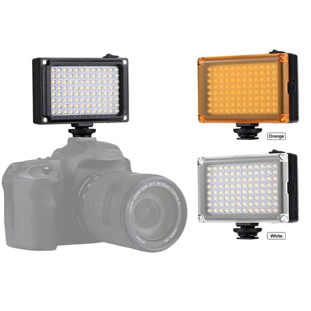 Photography Lighting 96 LED Photo Video Flash Light Photo Fill Light Lamp For Canon Nikon Sony DSLR Camera DV Camcorder Light