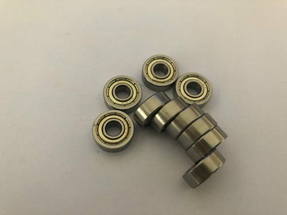 10pcs 681ZZ 1x3x1mm 681XZZ 1.5X4X2mm 681X 1.5X4X1.2mm Miniature Bearings Ball Mini Bearing