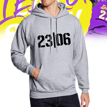 цена на Mens Hoodie Fashion Lucky Number 23 Print Hoodies Sport Cotton Hoodies(S-4XL)
