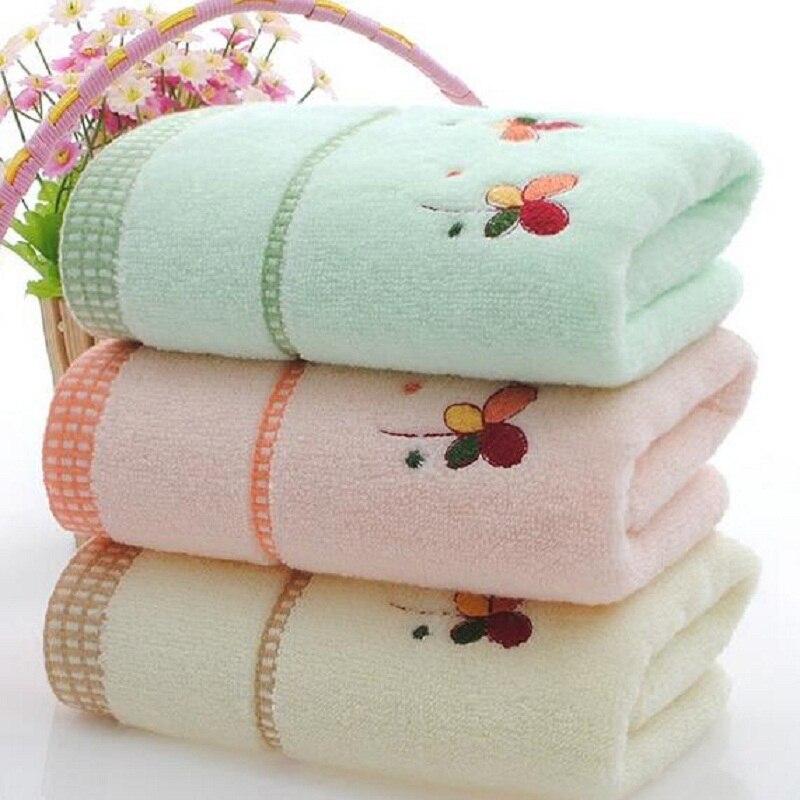 Vysoce kvalitní bavlněná ručník Ručník na ručníky pro dospělé Bavlněné měkké pohodlné ručníky 33 * 73CM Bytový textil