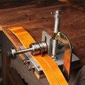 Регулируемый кожаный металлический режущий ремень DIY ручные режущие инструменты ленточный резак ручной режущий станок