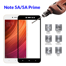 Protective Glass on the For Xiaomi Redmi Note 5A Prime Tempered Glass For Xiaomi Xiomi Xaomi Redmi Note 5A Pro Note5a Full Cover
