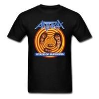 Anthrax State Of Euphoria T Shirt Men And Women Metal Rock Tee Size S XXXL