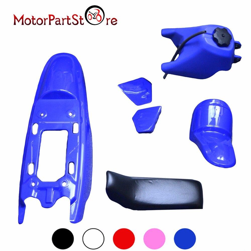 Kit de pièces de protection de garde-boue en plastique pour YAMAHA PW50 PY50 PW PY 50 PEEWEE