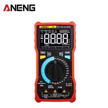 ANENG V8 Digital Multimeter Profesional 8000 Counts True RMS Transistor Tester Analog transistor multimetro multitester