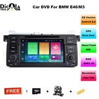 Android 8.0 Octa Core in dash car dvd player for bmw e46 318 /320/325/330/335/M3 gps navigaton autoradio audio bluetooth 3G SWC