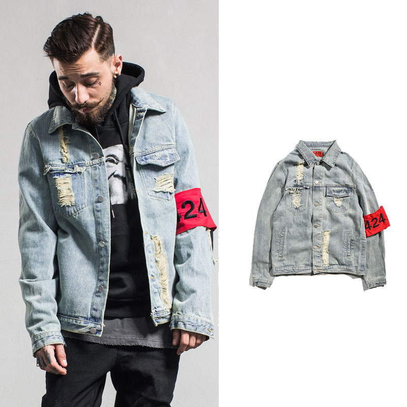 Compare Prices on 424 Men Jean Jacket- Online Shopping/Buy Low ...