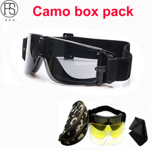 Good Quality Tactical Glasses Military Airsoft Goggles Paintall Shooting Glasses Eye Protection Motorcycle Sport Sunglasses Men