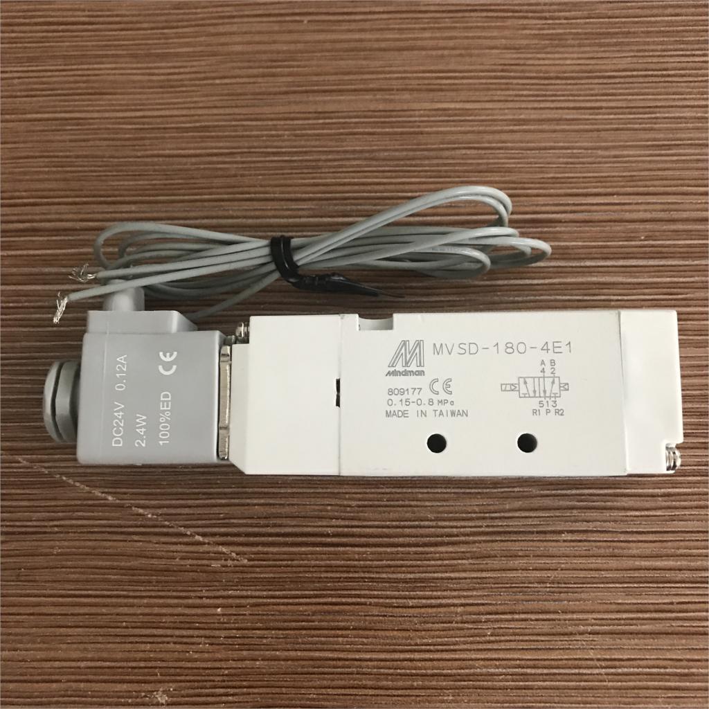 New Solenoid Valve MVSD-180-4E1 MVSD1804E1 coil DC24VNew Solenoid Valve MVSD-180-4E1 MVSD1804E1 coil DC24V