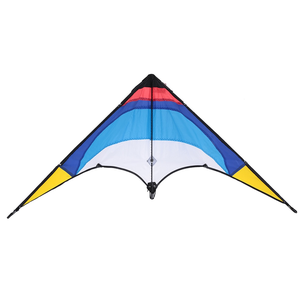 1.3m Colorful Delta-shaped Kite Double Line Stunt Kite Double Line Flying Kite Easy Assembled Beginners Best Flyer Outdoor Sport1.3m Colorful Delta-shaped Kite Double Line Stunt Kite Double Line Flying Kite Easy Assembled Beginners Best Flyer Outdoor Sport