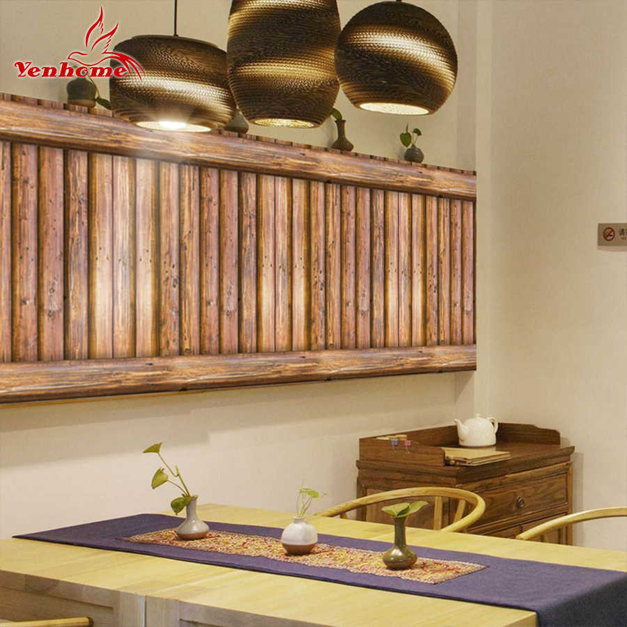 3m Wood Grain Contact Paper Self Adhesive Wallpaper For Kitchen Cabinets Door Wall Stickers For Bedroom Living Room Home Decor