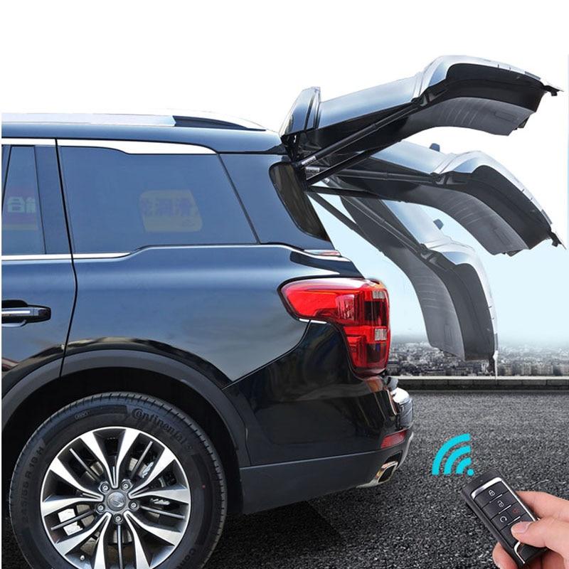 Auto Electric Tail Gate For Audi A6L 2013 2014 2015 2016 Single Pole Remote Control Car Tailgate Lift
