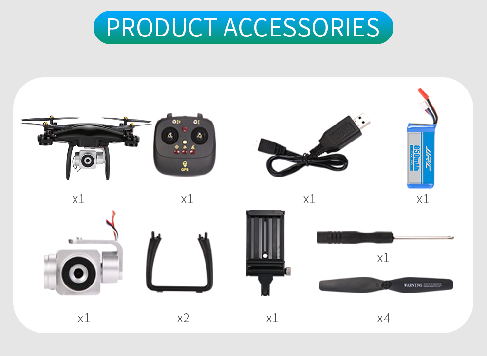 JJRC H68G GPS Drone With Camera 1080P HD 5G Wifi FPV Quadrocopter RC Helicopter Professional Dron Compass Auto Follow Quadcopter 20