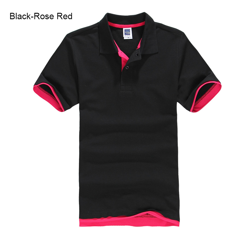 URSPORTTECH Men's Polo Shirt For Men Desiger Polos Men Cotton Short Sleeve shirt Clothes jerseys golftennis Plus Size XS- XXXL 31