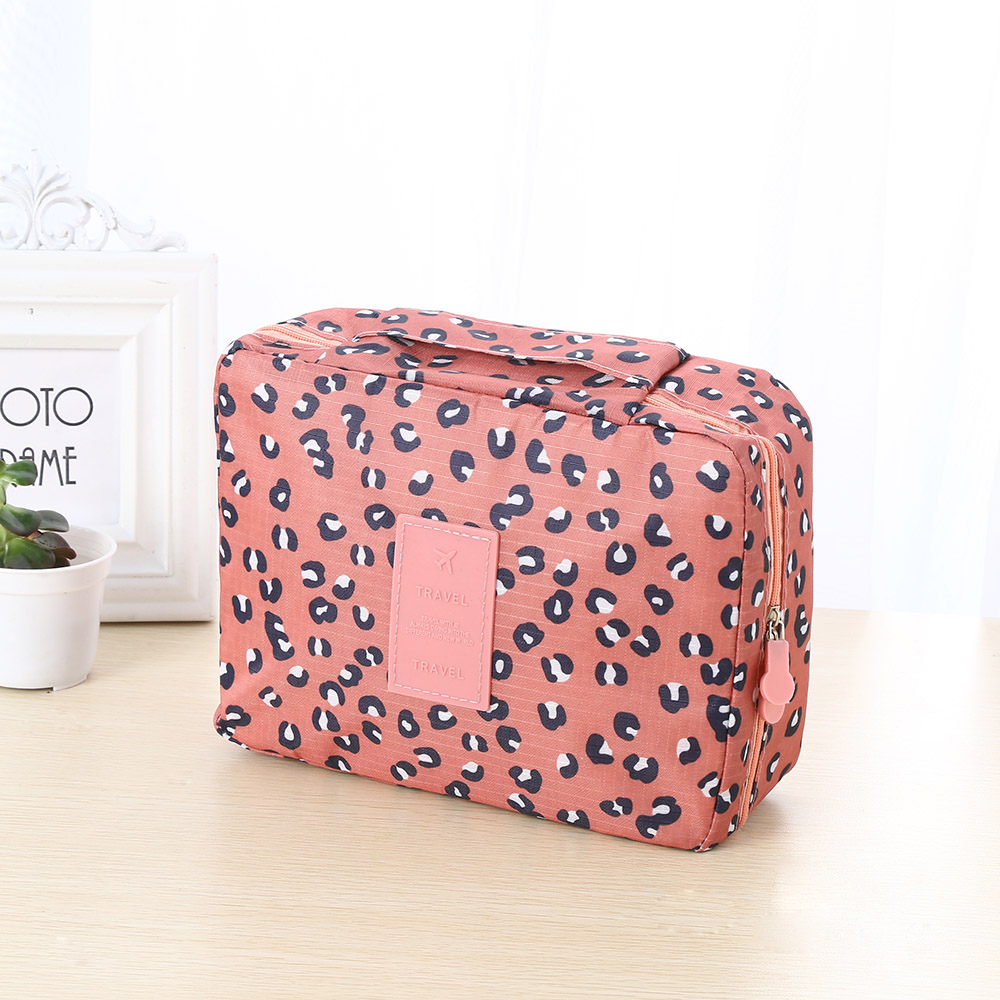 Storage-Pouch Toiletry-Case Cosmetic-Bag Wash-Organizer Travel Hanging-Bag Makeup Waterproof