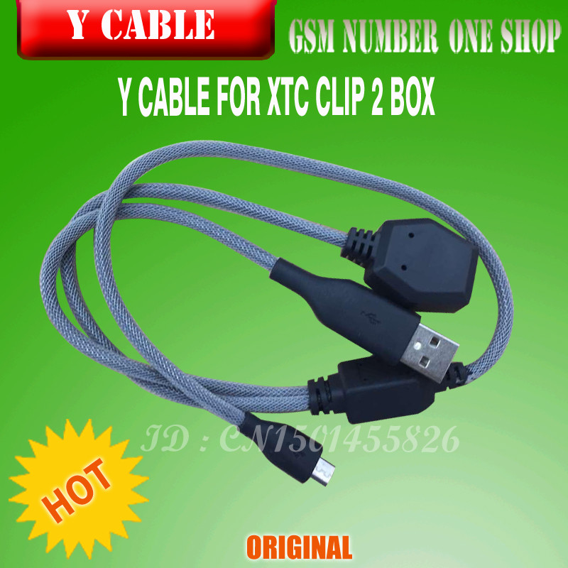 The Best Quality Y Cable Xtc Clip2 Box Free Shipping