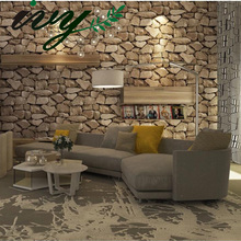 IVY MORDEN Brick Stone Wallpaper Photo Wall Paper for Walls Roll Wallpapers Non Woven Vintage Murals Home Decor Living Room
