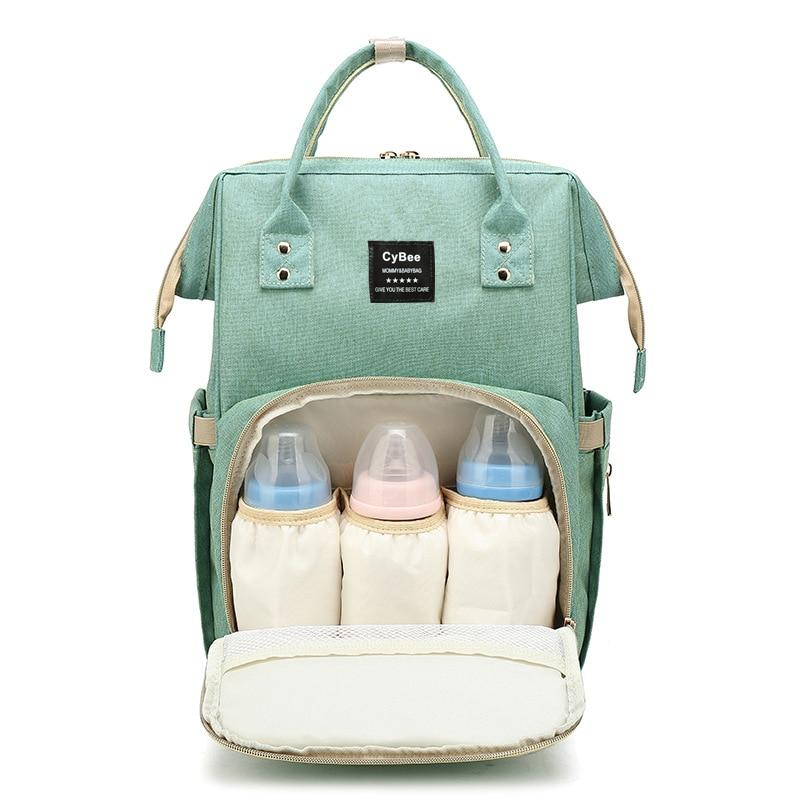 Diaper Bag Mummy Maternity Nappy Bags Large Capacity Baby Travel Backpack Designer Nursing Care Baby Bag For Mom
