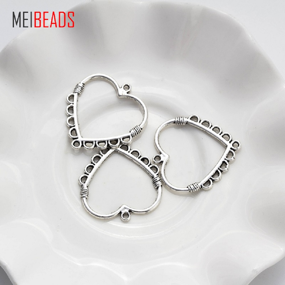 10pcs/lot  Alloy Metal Antique Silver Flower Earrings Connectors Jewelry Accessories For DIY Handmade Jewelry Making10pcs/lot  Alloy Metal Antique Silver Flower Earrings Connectors Jewelry Accessories For DIY Handmade Jewelry Making