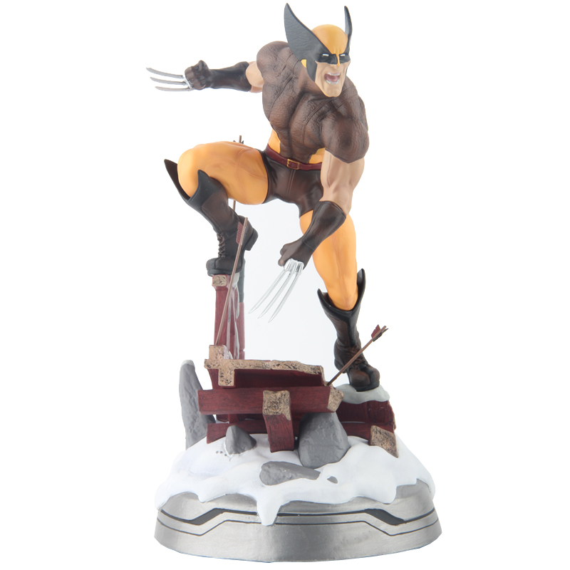 Wolverine Figure Logan Justice League ARTFX+ X Force Statue X MEN Weapon 26cm 10 final fantasy x 2 artfx 1 6 scale soft vinyl statue figure yuna unopened new