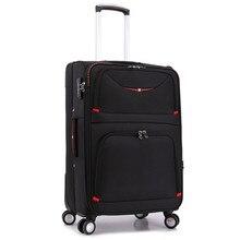 20 24 28 polegadas bagagem do trole canivete Suíço das mulheres sacos de viagem caixa haste bagagem de mão dos homens de moda à prova d' água pano Oxford mala saco(China (Mainland))