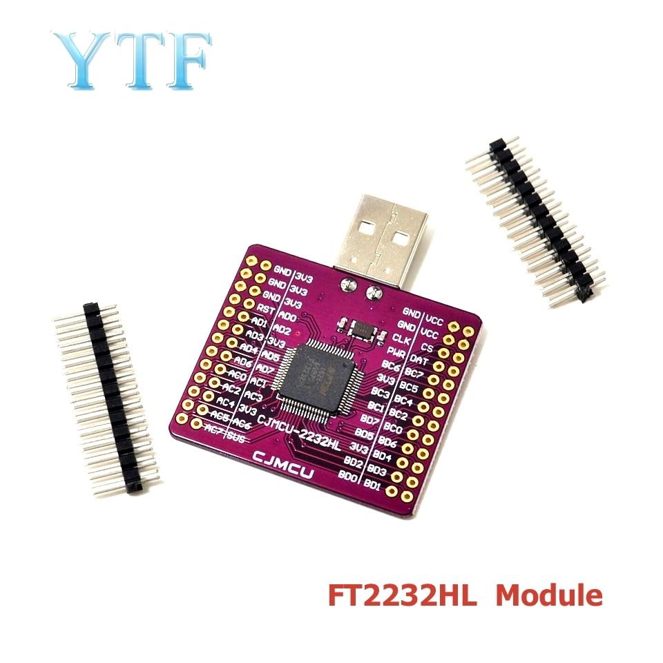 CJMCU-2232 FT2232HL USB To UART FIFO SPI I2C JTAG RS232 Module