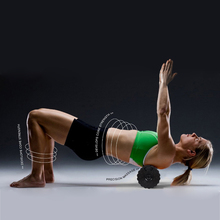 Vibrating Massage Foam Fitness Roller Trigger Point Crossfit Electric Yoga for Muscle Recovery Relaxation and Physical Therapy