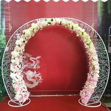 Стиль свадебный реквизит железная арочная дверь sen наружная Свадебная сцена макет Луна ворота счастье дверь