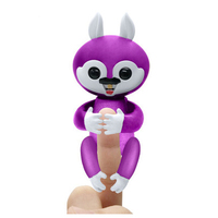 Interactive Baby Finger Squirrel Electronic Toy For Children 4 Colors