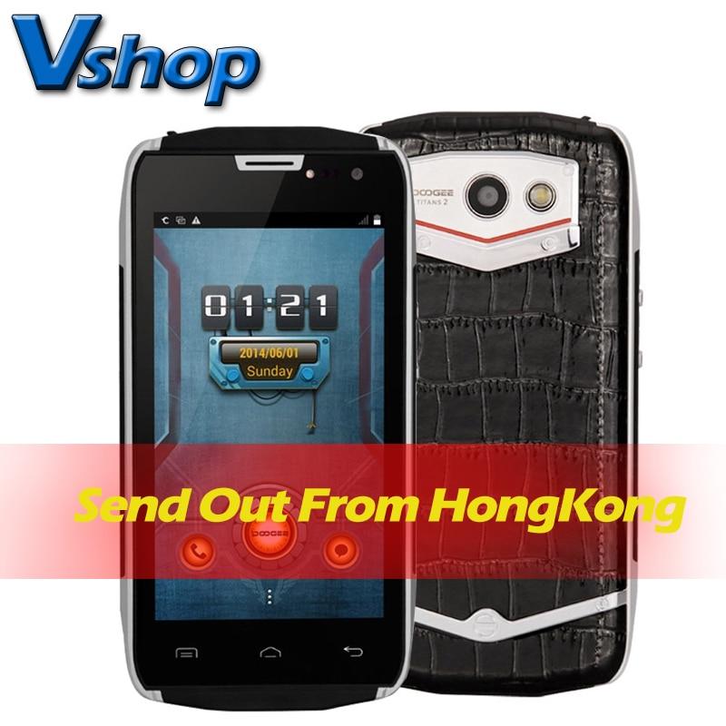 DOOGEE TITANS2 DG700 Waterproof Smartphone 4000mAH 4.5 inch 3G Android 4.4.2 MT6582 Quad Core ROM 8GB Dual SIM Card WCDMA & GSM