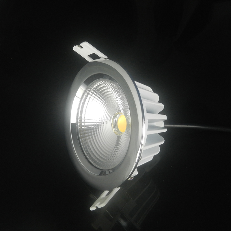 1pcs Driverless 5w 7w 9w 12w 15w 18w 20w 30w LED Downlight AC 220V IP65 Waterproof
