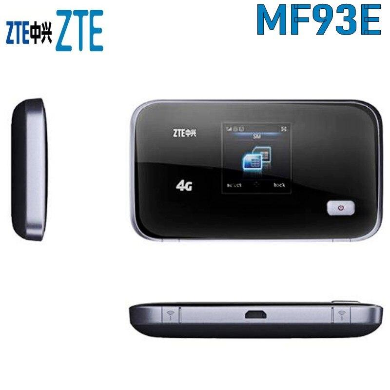 ZTE MF93E 4G FDD TD-LTE Mobile WiFi RouterZTE MF93E 4G FDD TD-LTE Mobile WiFi Router