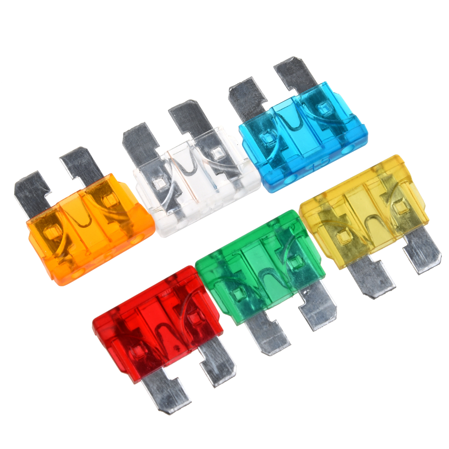Hot Sale 30pcs Standard Auto Blade Fuse For Car 5 10 15 20