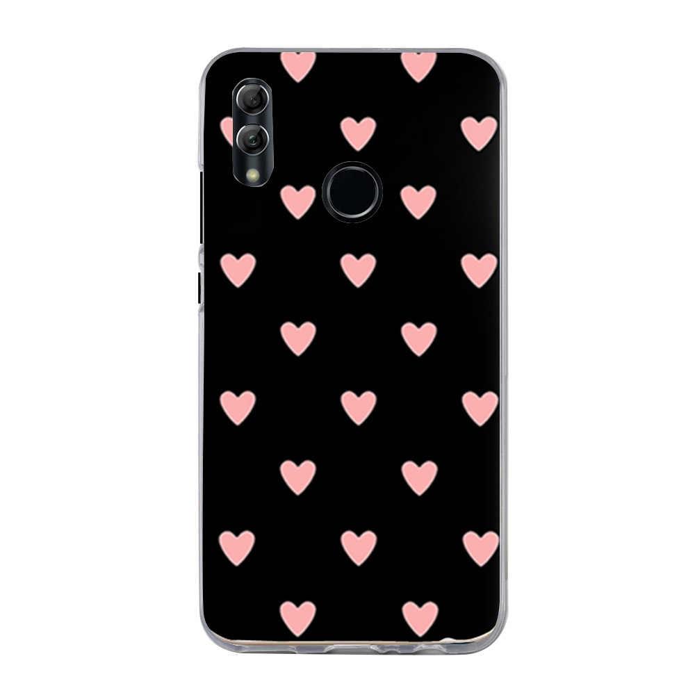 כיסוי עבור Huawei P חכם 2019 מקרה כיסוי סיליקון טלפון מקרה עבור Funda Huawei P חכם 2019 Psmart 2019 POT-LX1 POT-LX3 6.2 אינץ