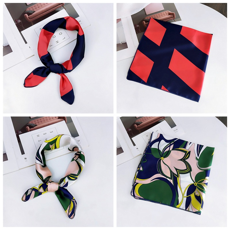 HTB1Q6MnbfLsK1Rjy0Fbq6xSEXXaV - fashion Square Scarf Hair Tie Band Party Women Elegant Small Vintage Skinny Retro Head Neck Silk Satin Scarf, square scarves