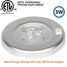 3 W LED السقف قبة إضاءة أرضية من الاستانليس ستيل البيضاوي مصباح داخلي ل 12 V مركبة بحرية متنقل اكسسوارات