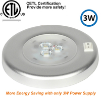 dome lamp 3W LED Ceiling Dome Light Stainless Steel Oval Interior Lamp for 12V Marine Boat Motorhome Accessories (1)