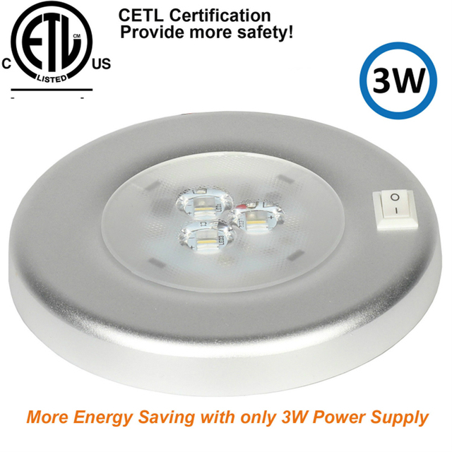 3W LED Ceiling Dome Light Stainless Steel Oval Interior Lamp for 12V Marine Boat Motorhome Accessories
