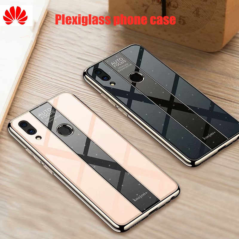 huawei p20Pro case High-end Porsche style Electroplated tpu pc glass mirror phone case P20lite Nova 3 3e mate 9 10 pro p10 20 30