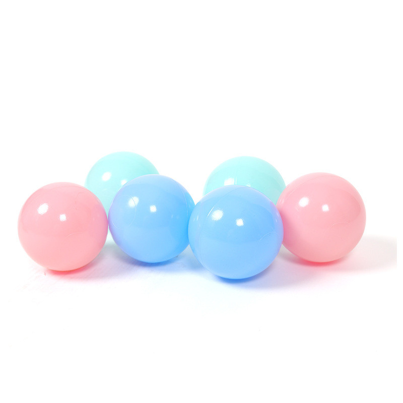 100 pcs/lot Eco-Friendly Colorful Ball Soft Plastic Ocean Ball Funny Baby Kid Swim Toy Water Pool Ocean Wave Ball 7cm