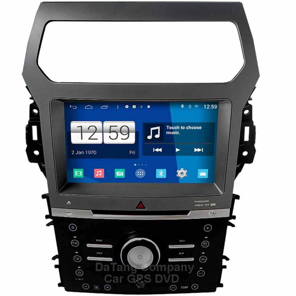 S200 IPS touch screen android 8 0 car dvd player for FORD Explorer Fusion  4G/3G device mirror link OBD2 DVR gps car stereo radio