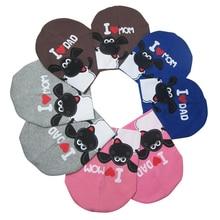 2016 I LOVE MOM Baby Hat Winter Autumn Newborn Crochet Baby Hat Girls Boys Cap Unisex Cotton Warm Beanie Infant knitted toddlers