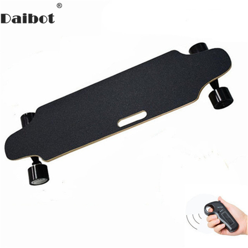 Daibot Electric Scooter 300W Four Wheel Scooters 25KM/H 24V Portable Skateboard Longboard Adults