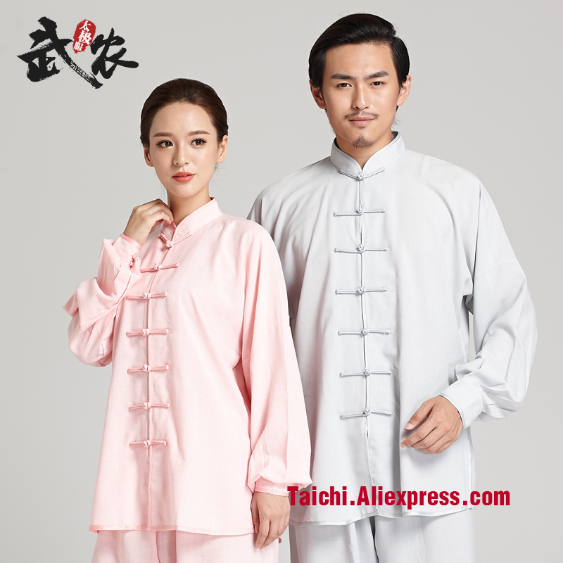 Martial Art Tai Chi Unifrom Taiji   Cotton  And Line   Performance Clothing  Wu Shu Suit Kunfu Clothing