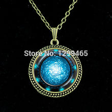 Nebula space pendant astronomy geek jewelry science galaxy space chain necklace glass dome pendant Jewelry   N 165