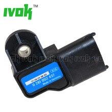 Original Boost MAP Sensor For Alfa Romeo Fiat Lancia Iveco 0281002437 73503657 504088431 504245257 55219298 0 281 002 437